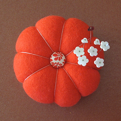 coloriffic pincushion