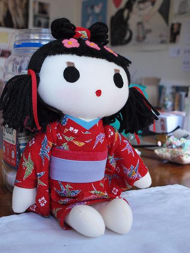 joe's mum's doll