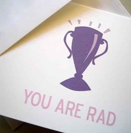 You are rad